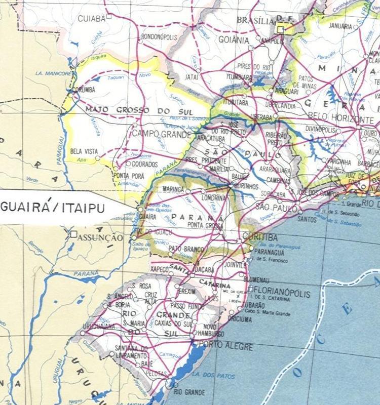 Região de Guairá / Itaipu